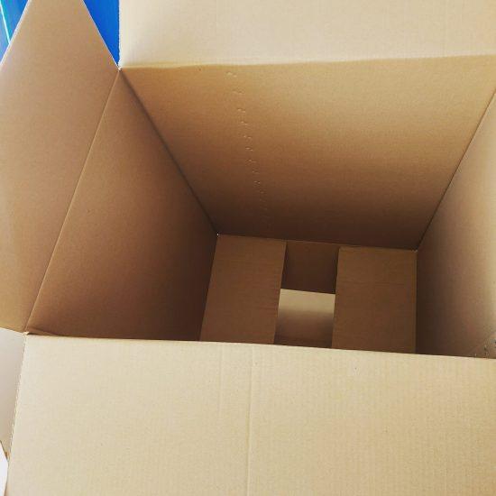 Empty Carton Box 45x45x70 cm