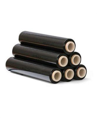 Black Stretch Wrapping Film