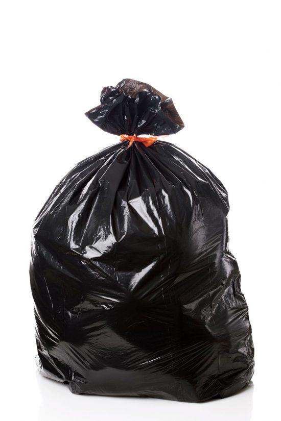 Black Garbage Bag110×120 cm
