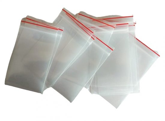Poly Zip lock Bags 2×3