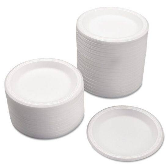 White Foam Plate