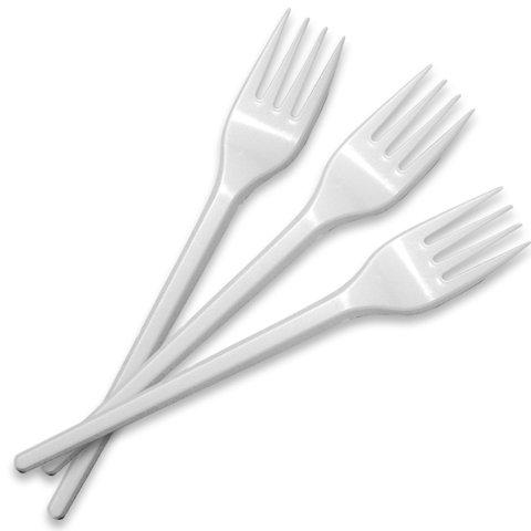 Disposable Plastic Fork 2000 Pcs